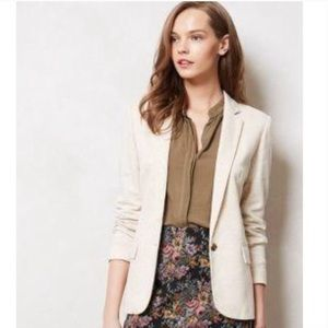 Anthropologie Cartonnier blazer with elbow patches
